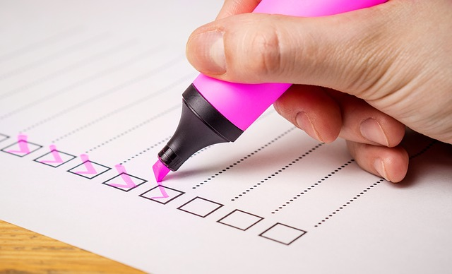 checklist-quiz-survey